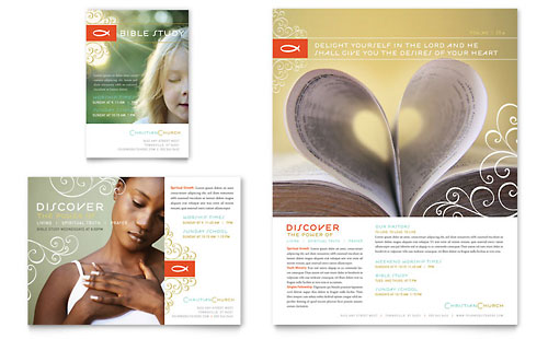 religious flyer templates word – Microsoft Word Flyer Template Free