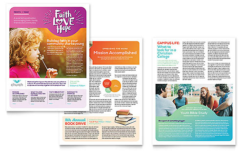Religious Brochure. Religious & Church Flyer Template Church