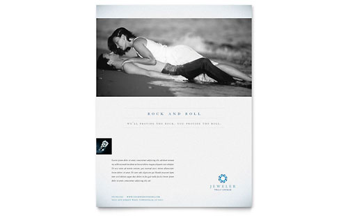 Jeweler & Jewelry Store Flyer Template