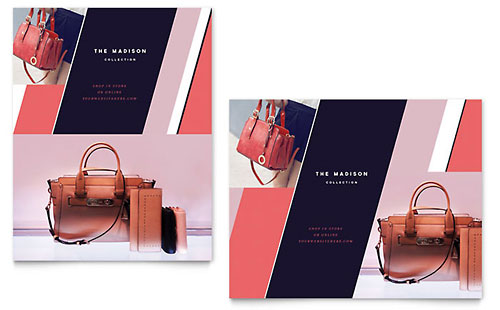 Designer Handbag - Poster Sample Template