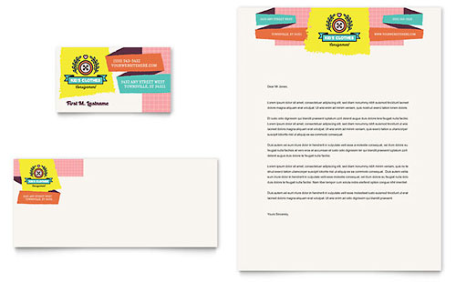 Kids Consignment Shop - Business Card Template