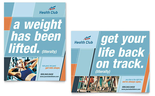 Fitness Posters Free Health Fitness Gym Poster
