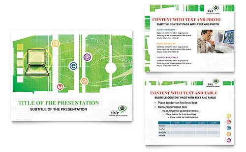 ISP Internet Service PowerPoint Presentation Template