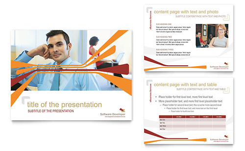 Software Developer PowerPoint Presentation Template