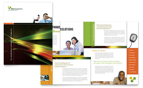 pamphlet design software