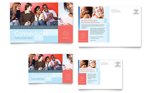 Marketing Agency | Postcard Templates | Professional Services