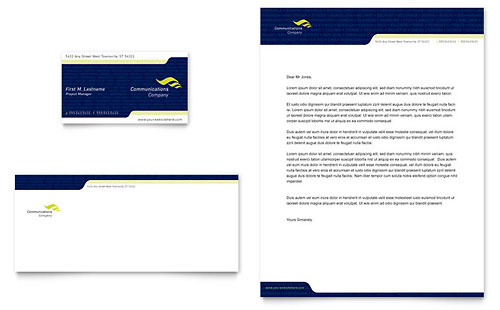 Business Consulting Letterhead Templates – Sample Letterhead for Business