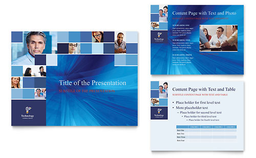 Technology Consulting & IT PowerPoint Presentation Template