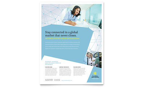 Global Network Services - Flyer Template