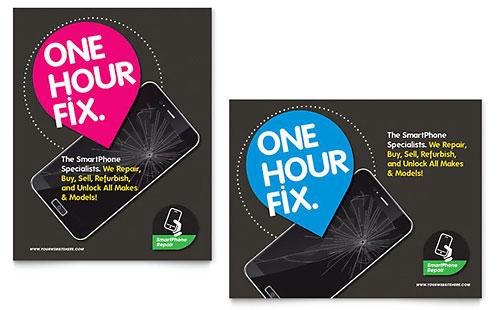 Smartphone Repair - Poster Template