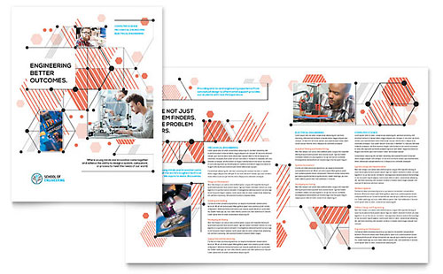 Computer Engineering InDesign Brochure Template