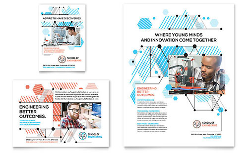 Computer Engineering Flyer & Ad Template