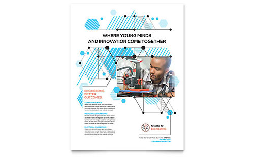 Computer Engineering Flyer Template