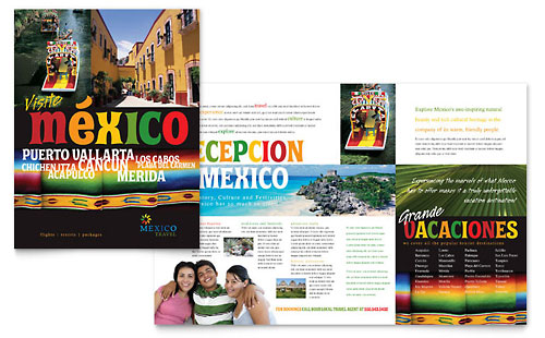 Travel Tourism Brochures – Tourism Brochure Template