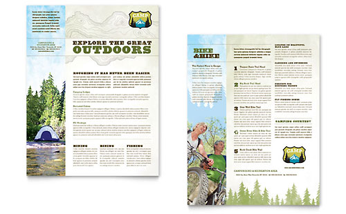 Travel Tourism Sales Sheets – Sales Sheets Templates