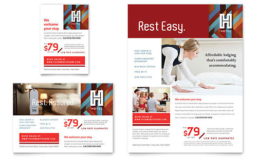 Hotel Flyer & Ad Template