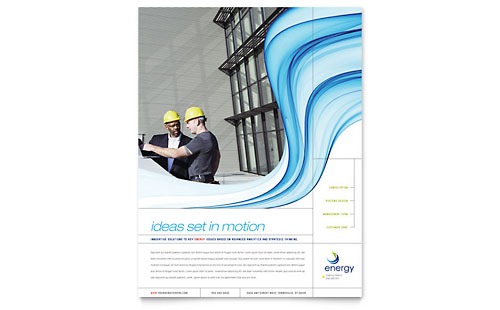Renewable Energy Consulting Flyer Template