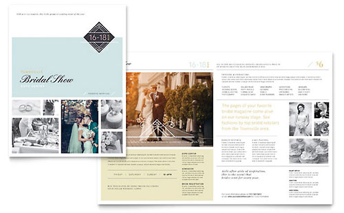 Bridal Show Brochure Template - Pages