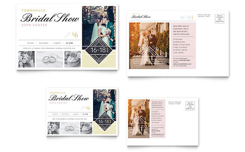 Bridal Show Postcard Template