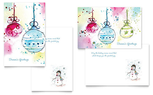birthday card template free microsoft word, Greeting card