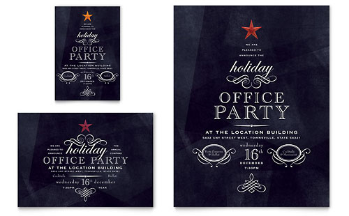Christmas Party Flyer Sample http://www.stocklayouts.com/Templates/Holiday-Seasonal/Holiday-Seasonal-Templates-Designs.aspx