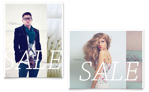 Urban Fashion Sale Poster Template