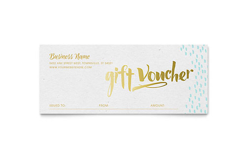 Holiday Seasonal Gift Certificates – Santa Gift Certificate Template