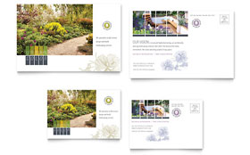 Urban Landscaping - Postcard
