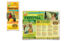 Harvest Festival - Brochure Template