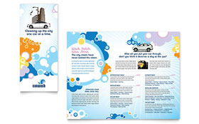 Car Wash - Tri Fold Brochure