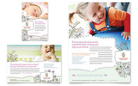 Babysitting & Daycare - Flyer & Ad Template