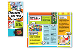 Kids Club - Brochure Template