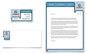 Plumbing Services - Business Card & Letterhead