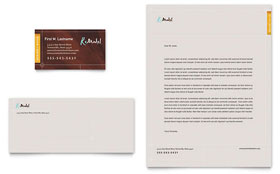 Home Remodeling - Business Card & Letterhead Template