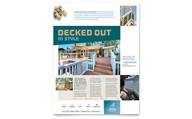 Decks & Fencing - Flyer