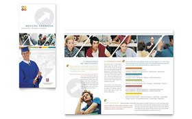 College & University - Microsoft Word Brochure