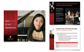 Music School - PowerPoint Presentation