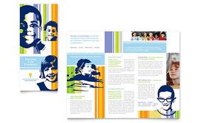 Learning Center & Elementary School - Brochure