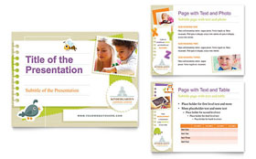Kindergarten - PowerPoint Presentation Template
