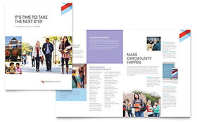 Community College - Brochure Template