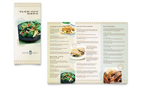 Cafe Deli - Take-out Brochure