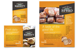 Artisan Bakery - Flyer & Ad Template