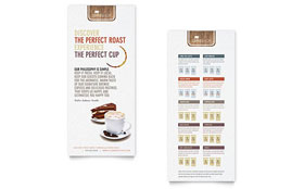 Coffee Shop - Rack Card