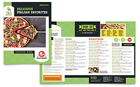 Pizza Parlor - Menu Template