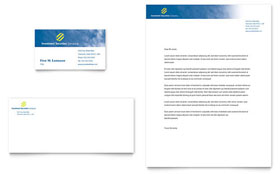 Investment Securities Company - Business Card & Letterhead