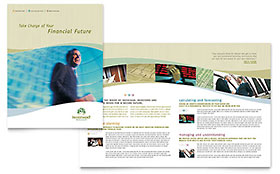 Investment Management - Brochure Template