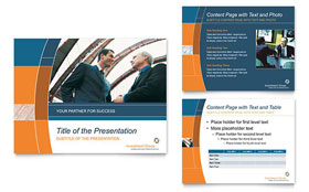 Investment Services - PowerPoint Presentation Template