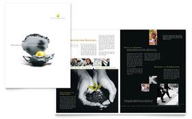 Wealth Management Services - QuarkXPress Brochure Template