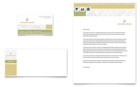 Investment Advisor - Business Card & Letterhead
