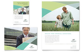 Financial Advisor - Flyer & Ad